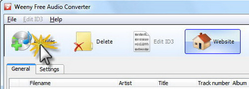 Free Audio Converter Screenshot 1