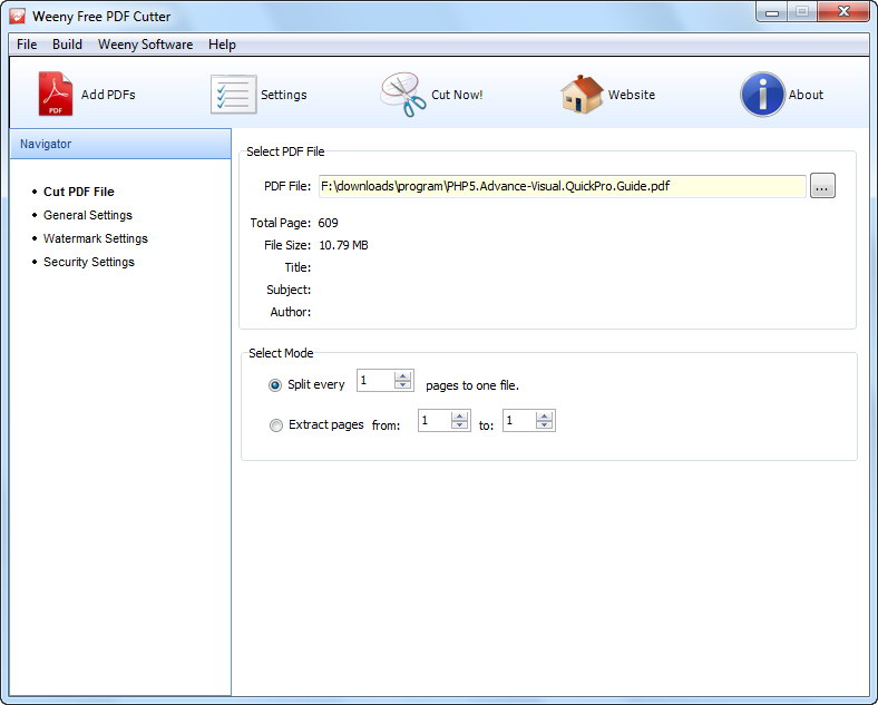 free pdf compressor screenshot