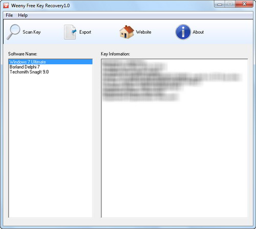 Free File Recovery Screenshot