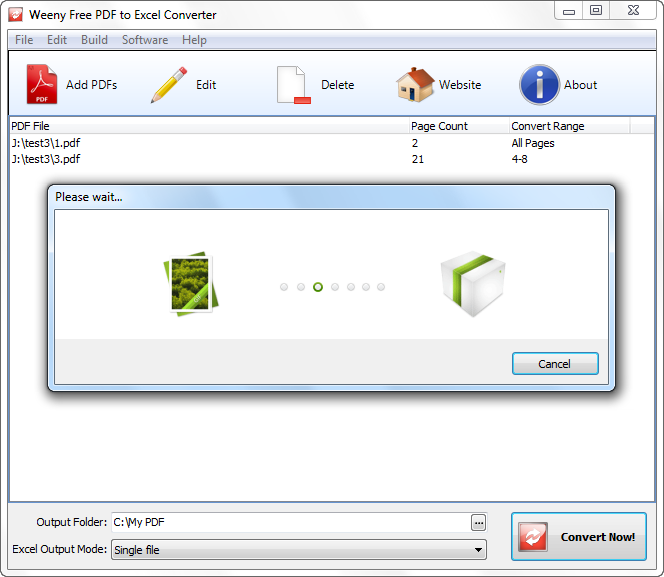 Free PDF to Excel Converter Download